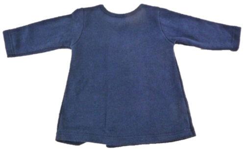 Trocadero Winter Strickkleid Baby in Marine handgemacht