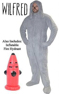 Adult One Size Officially Licensed FX TV Show Wilfred Deluxe Dog Suit Costume