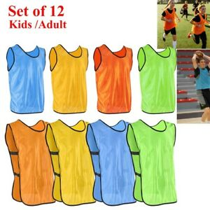 874b10d51728 Image is loading 12-SCRIMMAGE-VESTS-SOCCER-BASKETBALL-FOOTBALL-CHILD-YOUTH-