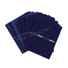 40pcs 52x38mm Solar Cell Cells Sun Power for DIY LED Light Toy Charge 10W Panel