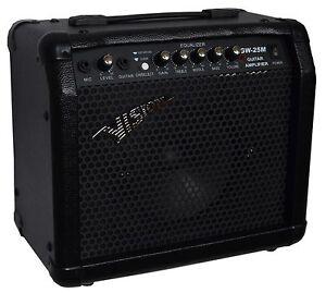 E-chitarra-amplificatore-amplifer-gw25m-ingresso-microfono-decoder-ingresso-cuffie