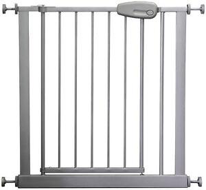 Adjustable Safety Gate 73 143 Cm Megane Silver Grey
