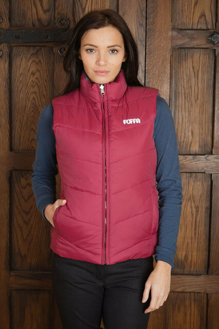 PUFFA LADIES Clearance RAWLIN REVERSIBLE GILET Was  NEW Clearance LADIES 50% Off 5aeab7
