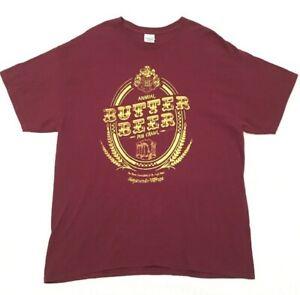 Harry-Potter-Butter-Beer-Pub-Crawl-T-Shirt-XL-Hogsmeade-Village-Hogs-Head-Broom