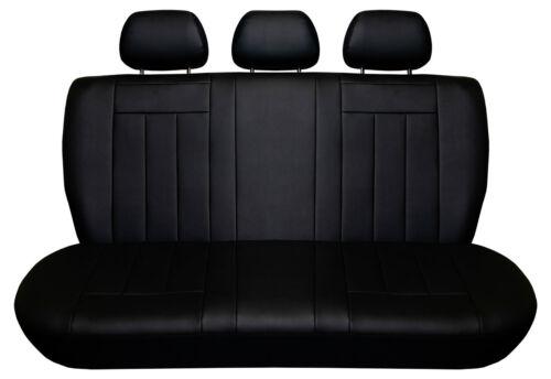 Hyundai GETZ I 2002-2005 Maßgefertigte Kunstleder Sitzbezüge in Schwarz