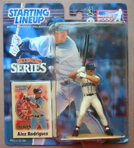 Alex Rodriguez 2000 Starting Lineup SLP Extended Series Seattle Mariners
