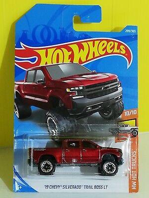 2020 Hot Wheels caso J 2019 Chevy Silverado Trail Boss #151
