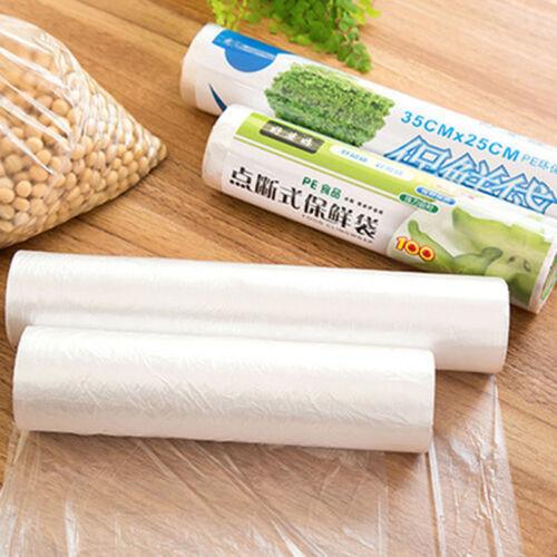 50 Pcs//Set Kitchen Sealer Bags Meat Vegetable Packing Bag Set Food Saver Z