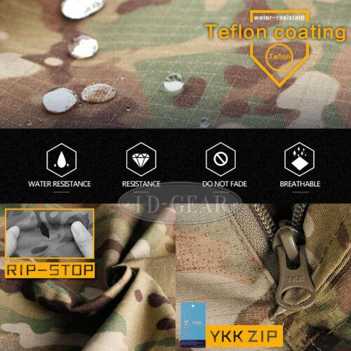 IDOGEAR Tactical G3 Combat Uniform Shirt /& Pants BDU Set Gear Clothing MultiCam