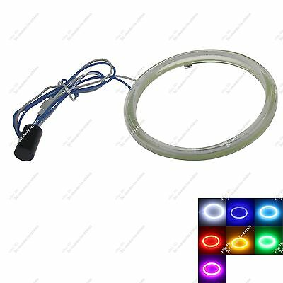 1X 90mm COB Led Halo Rings Angel Eye for Cars Headlights Multicolor Non Polarity