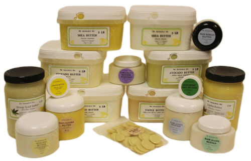 Cocoa Butters Pure & Organic Natural Raw Cold Pressed Grade A Choose Your Butter