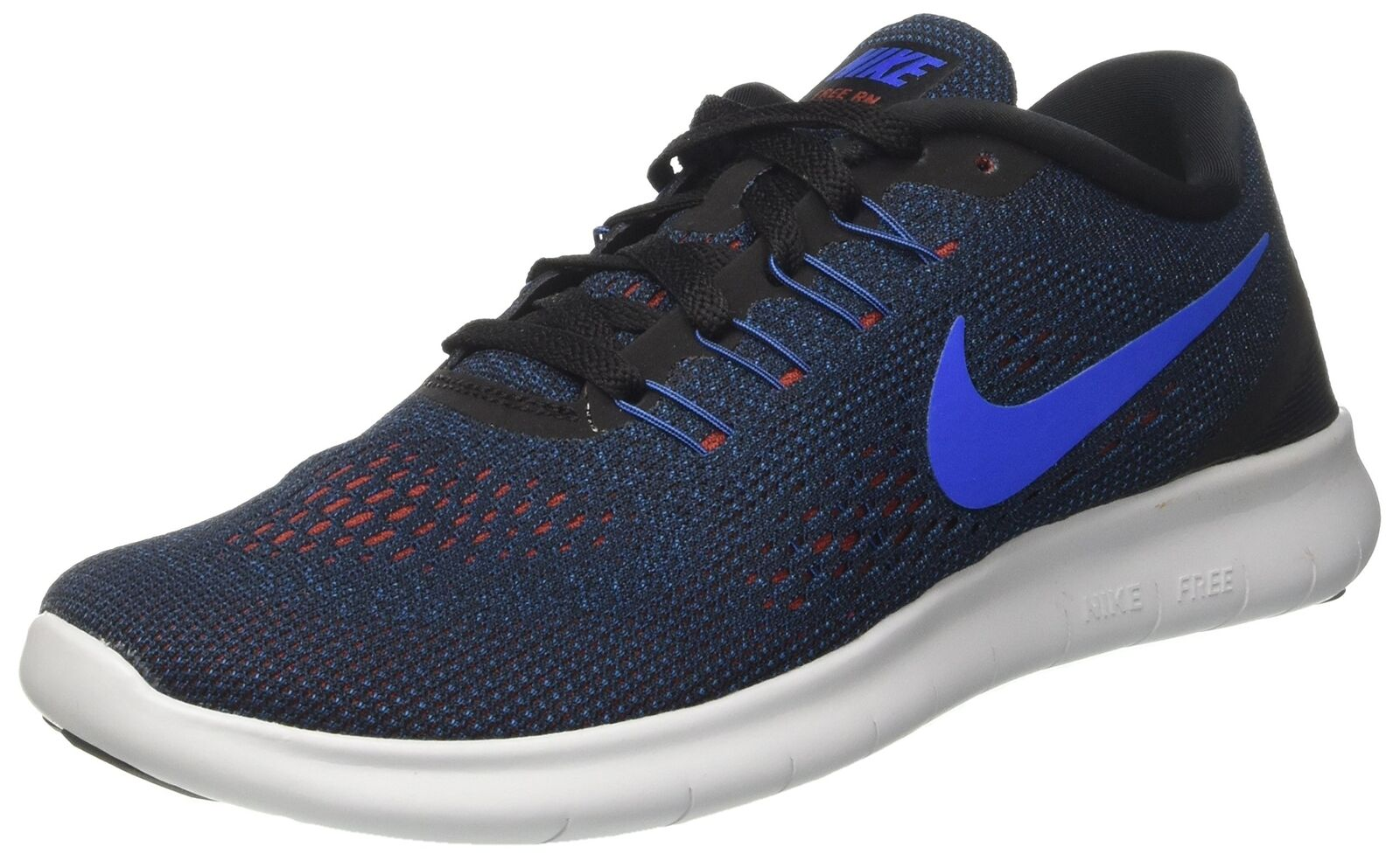 Nike uomini liberi rn scarpa da nero corsa, squadra royal / nero da / buio cayenne / vola 12 d (m) us fd74b7