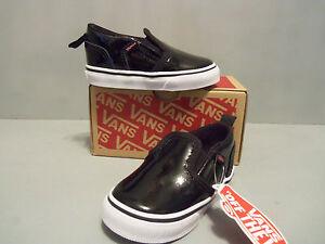 20fde24869b Vans Toddler Asher V Skate Shoes Black Hook and Loop sizes NEW IN ...