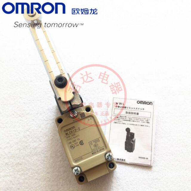 OMRON WLCA12-2 WLCA122 Limit Switch Original New in Box Free Ship