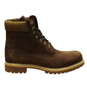d2dbdc3d38d Details about Timberland Icon 6 Inch Nubuck Leather Waterproof Mens Brown  Boots A1LY6 D92