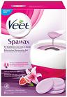 VEET Spawax Stripless Wax Warming Kit Purple Lily 6 Discs Hair Removal