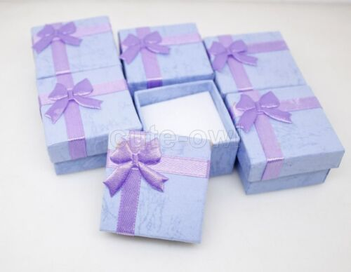 wholesale 24 pcs jewelry gift color box display new fashion  ring earring box