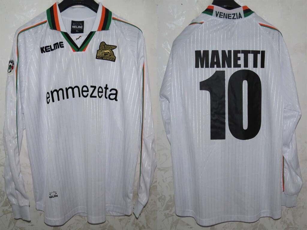 MAGLIA JERSEY SHIRT MAILLOT TRIKOT ALCIO FOOTBALL SOCCER VENEZIA ITALY WORN