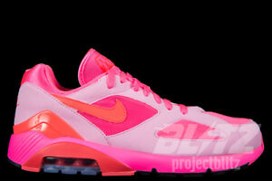 NIKE AIR MAX 180 CDG Sz 5.5-9 LASER PINK SOLAR RED PINK RISE AO4641 ... 49ae967aa