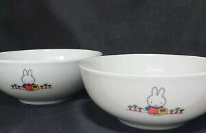 NEW Miffy Lawson Collab Dish Large Plate Kawaii Tableware From JAPAN **A753