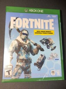 Fortnite Depp Freeze Bundle Physical Game Disc Xbox One New