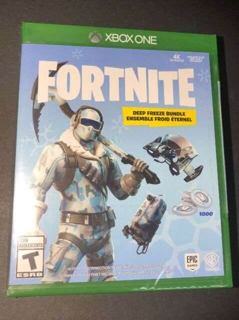 Fortnite Deep Freeze Bundle [ Physical Game Disc ] (XBOX ONE) NEW