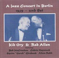 Kid Ory & Red Allen, - Jazz Concert In Berlin 1959-2nd Set [new Cd] on Sale