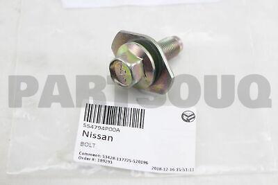 Genuine Nissan Radius Rod Bolt 55479-4P00A