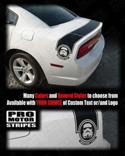 Choose Color Dodge Charger 2011-2014 Bumblebee Trunk Rear Accent Stripes Decals