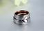 Anello-Anelli-Coppia-Fedi-Fede-Fedine-Fidanzamento-Nuziali-Cuore-Cristallo-Oro-3 miniatura 4