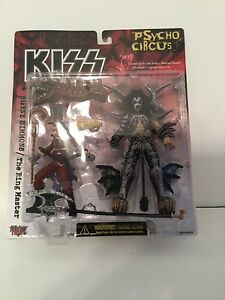 Mcfarlane Kiss Psycho Circus Gene Simmons The Ring Master Action Figure New!
