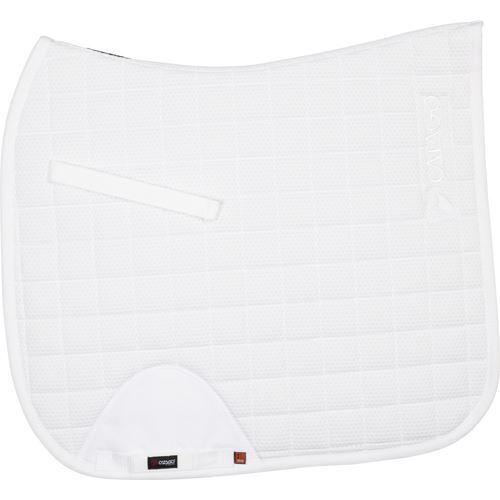 CATAGO FIR-Tech Healing DRESSAGE Saddle Pad - White