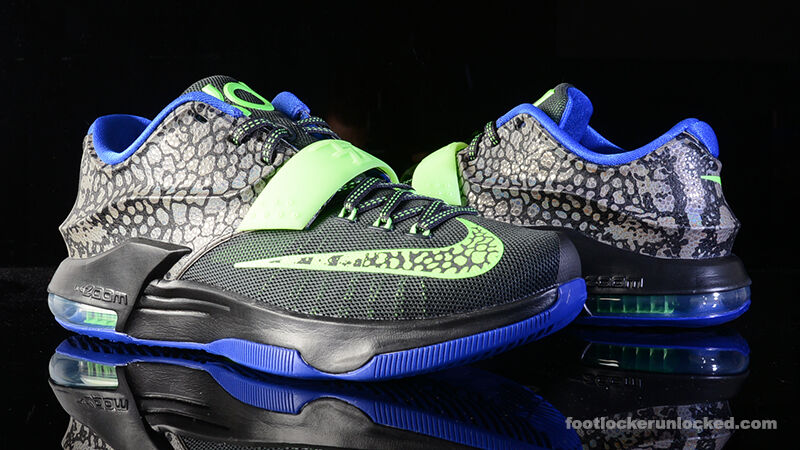 Nike KD 7 VII Electric Eel Size 13 653996-030 jordan what the bhm mvp aunt pearl