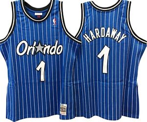 7c4f05976 ANFERNEE HARDAWAY ORLANDO MAGIC Mitchell   Ness HWC Swingman Jersey ...