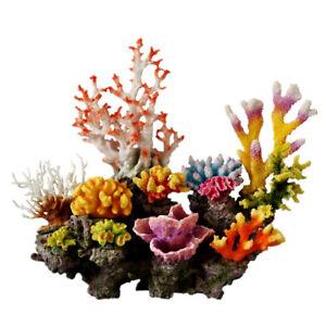 Beautiful Aquarium Decoration Artificial Corals Rock Fish Tank Decor