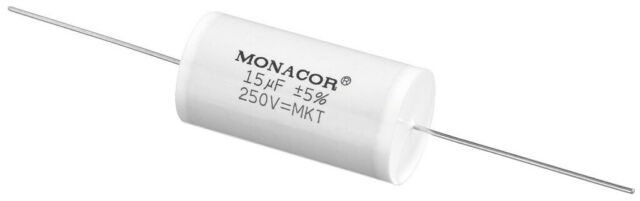 MONACOR MKTA-150 Lautsprechertechnik Frequenzweichen Folienkondensatoren