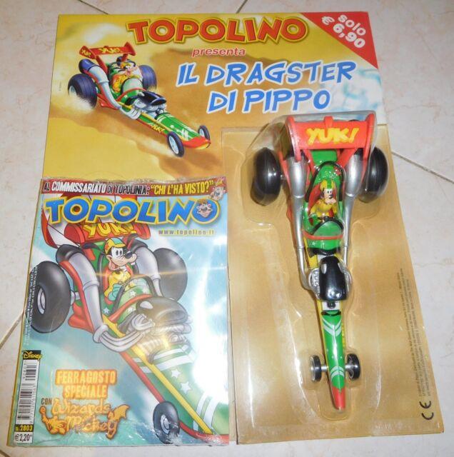 Topolino - Il Dragster di Pippo - Gadget con Topolino 2803 Blisterato