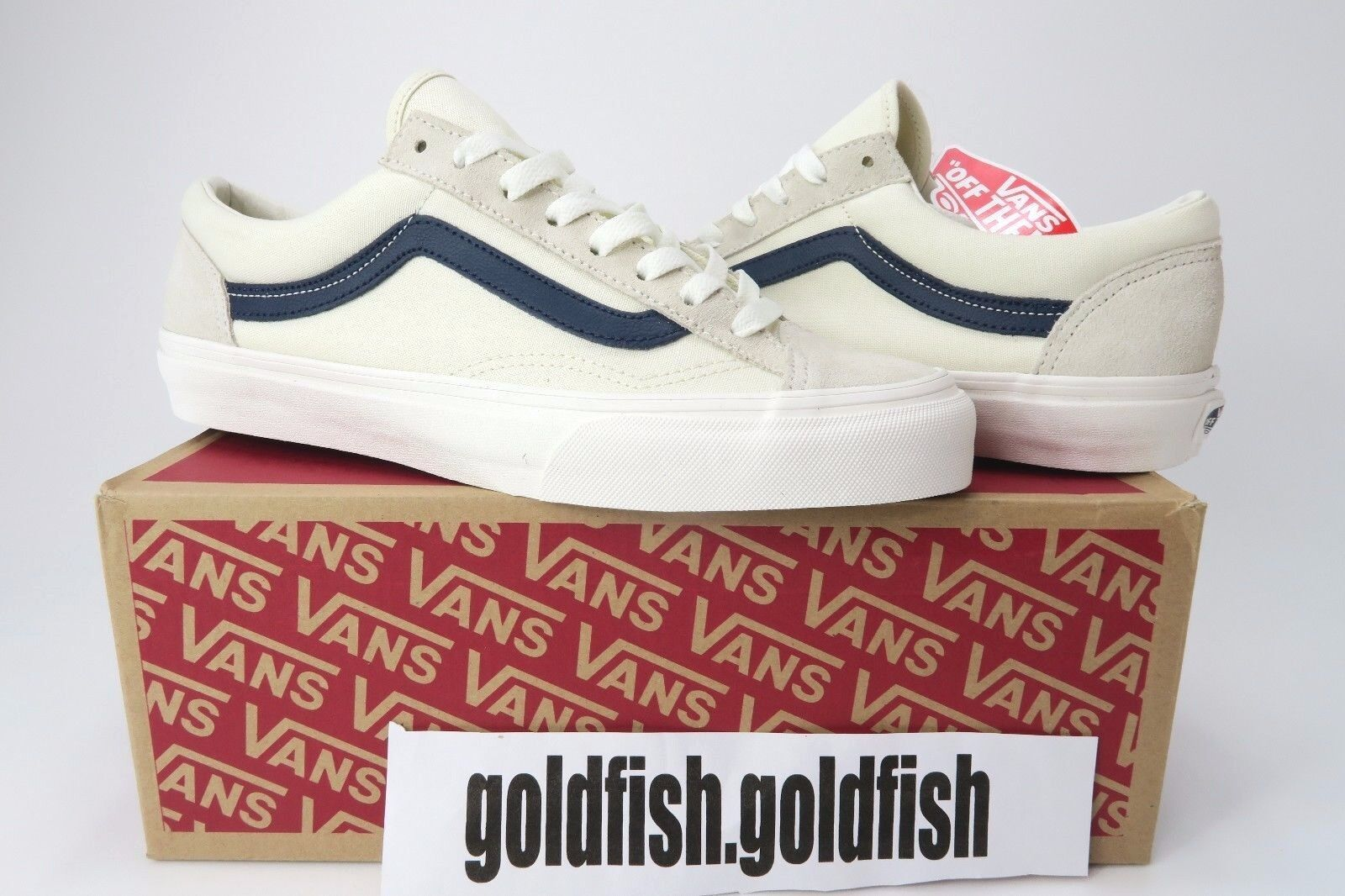 DS VANS OLD SKOOL STYLE 36 MARSHMALLOW DRESS BLUES ASIA RELEASE VN0A3DZ3KE6