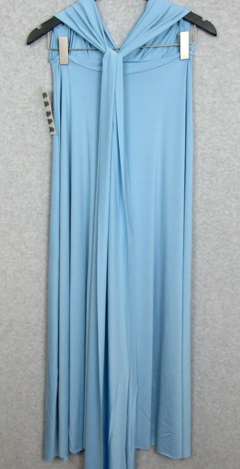 Wrap Magic Transformer Skirt Dress Womens Size Small Light bluee Congreenible