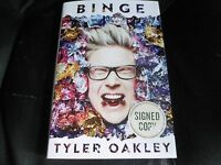 Tyler Oakley Signed - Binge - Hardcover Youtube Vine Tumblr