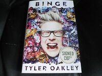 Tyler Oakley Signed - Binge - Hardcover Youtube Vine Tumblr