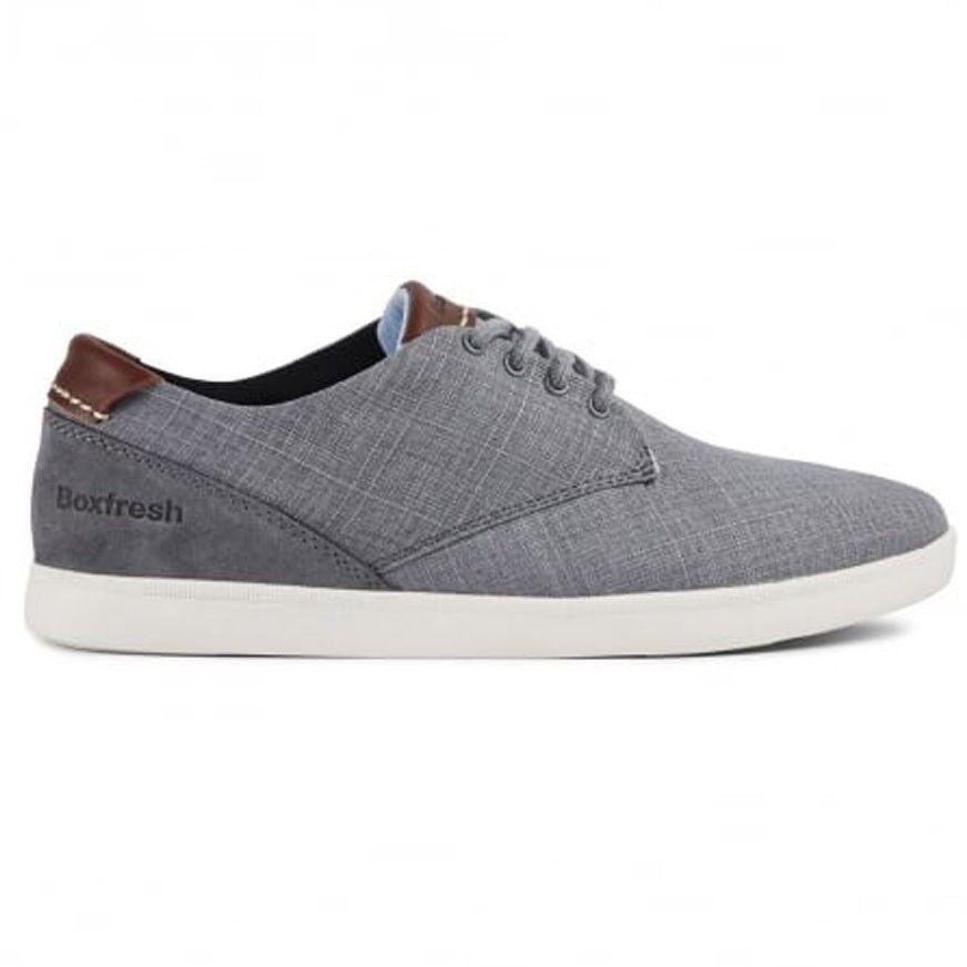 Boxfresh Herren Sneaker HENNING CH SLUB/SDE STL GRY