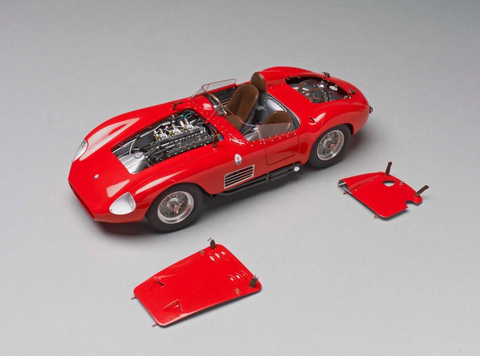 CMC CMC105 MASERATI 300S 1956 rouge 1 18 Modellino