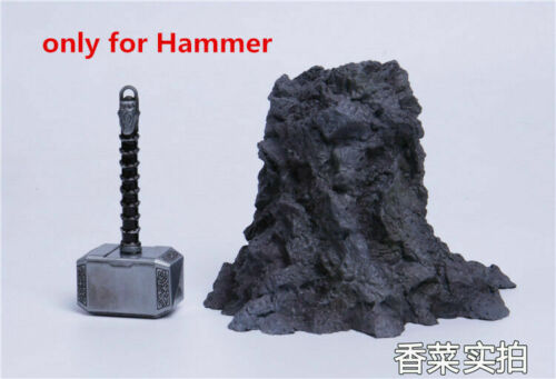 """The Avengers Thor/'s Hammer Weapon Props 1//6 Model F 12/"""" Figure Body Collection"""