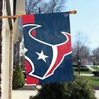 Houston Texans 2' x 3' NFL Licensed Bold Logo Banner / Flag - Free Shipping