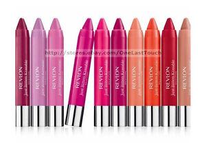 REVLON-Lip-Balm-JUST-BITTEN-KISSABLE-Stain-Stick-Crayon-CHUBBY-New-YOU-CHOOSE