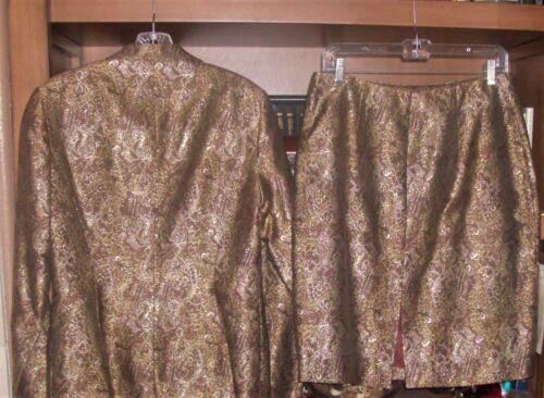 Chetta B Skirt Evening Size Nwt Jacket 3 12 Pieces long Skirt HqwnwfEA