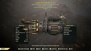 Fallout 76 Xbox One Legacy Vampir Explosive Agilität Gatling Plasma