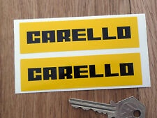 CARELLO old style logo classic car stickers Ferrari etc