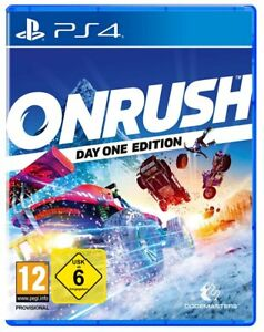Onrush-DayOne-Edition-ps4-Corse-NUOVO-amp-OVP-Uncut